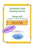 Coordinate Plane Graphing Activity: Dia de los Muertos Calavera