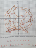 Coordinate Plane Graphing Activity- Hunger Games Mockingjay