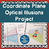 Coordinate Plane Graphing Activity Optical Illusion Project