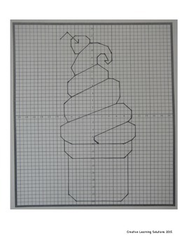 Coordinate Plane Graphing Activity: Swirly Ice Cream Cone