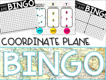 Coordinate Plane Graphing BINGO