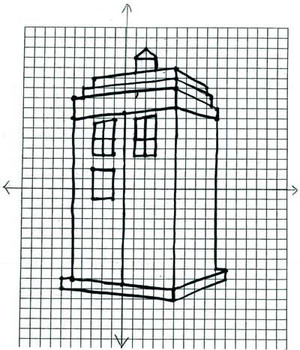 Coordinate Plane Graphing Dr Who DottoDots by jjbond TpT