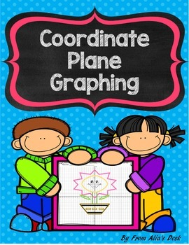 Coordinate Plane Graphing (Flower)