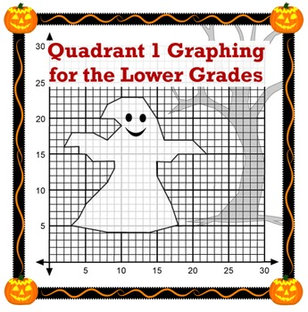 Coordinate Plane Graphing Halloween