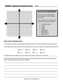 Coordinate Plane: Graphing Ordered Pairs Formative Assessment and Extension!