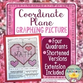 Coordinate Plane Graphing Picture in Four Quadrants