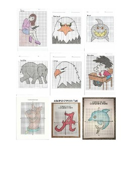 Coordinate Plane Graphing Project