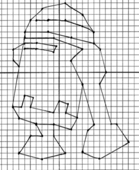 Coordinate Plane Graphing - Star Wars Dot-to-Dots