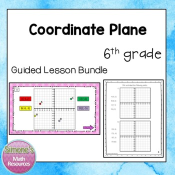 Coordinate Plane Guided Lesson