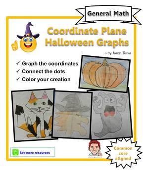 Coordinate Plane Halloween Pictures
