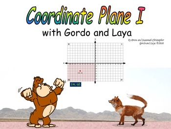Coordinate Plane I with Gordo and Laya