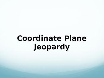 Coordinate Plane Jeopardy