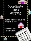 Coordinate Plane Mapping 5-NF4, 5-G1, and 5-G2