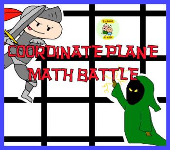 Coordinate Plane Math Battle