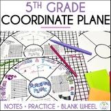 Coordinate Plane Math Wheel, Grade 5