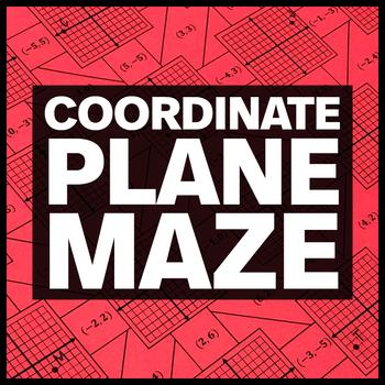 Coordinate Plane Maze + Bonus Mini Maze
