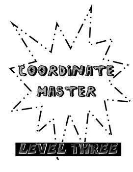 Coordinate Plane Multi-Level File Folder Game
