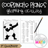 PANDA DAB: Coordinate Plane Graphing Activity! (1st Quadrant)