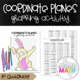 Coordinate Plane Graphing Activity: EASTER BUNNY DAB! (1st Quadrant)