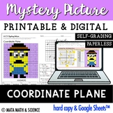 Coordinate Plane: Math Mystery Picture