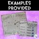Coordinate Plane No-Prep Notes Sheet