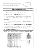Coordinate Plane Notes