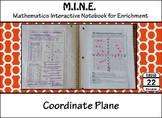 Coordinate Plane Notes and Activity