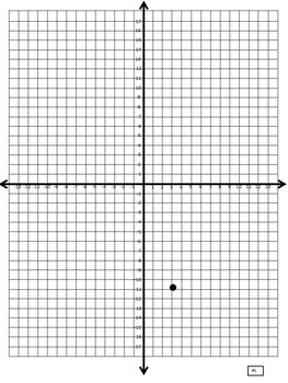 FATHER'S DAY CARD (POP UP) Coordinate Plane