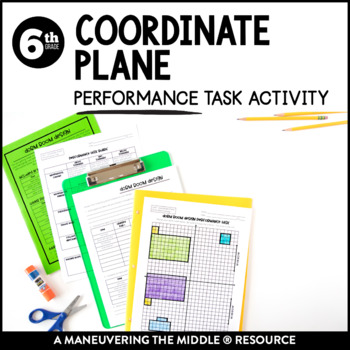Coordinate Plane Performance Task