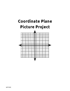 Coordinate Plane Picture Project - Linear Functions