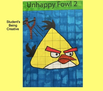 Coordinate Plane Pictures (Angry Bird 2)