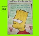 Coordinate Plane Pictures (Bart Simpson)