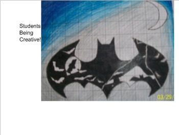 Coordinate Plane Pictures (Batman)