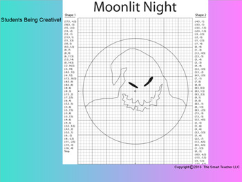 Coordinate Plane Pictures (Boogeyman from Nightmare Before Christmas)