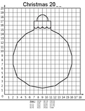 Coordinate Plane Pictures (Christmas Ornament)