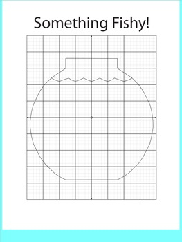 Coordinate Plane Pictures (Fish Bowl)