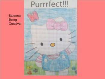 Coordinate Plane Pictures (Hello Kitty)