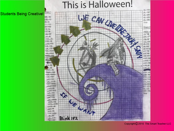 Coordinate Plane Pictures (Jack Skellington's Hill)