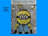 Coordinate Plane Pictures (Minion)
