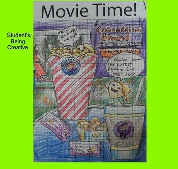 Coordinate Plane Pictures (Movie Items)