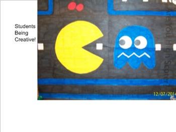 Coordinate Plane Pictures (Pacman)