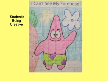 Coordinate Plane Pictures (Patrick the Starfish)
