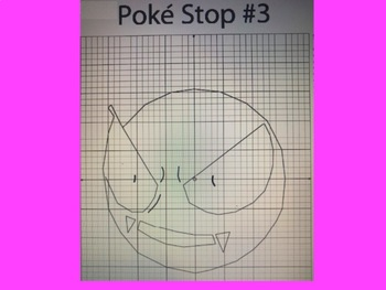 Coordinate Plane Pictures (Pokemon Ghastly)