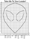 Coordinate Plane Pictures Quadrant 1 (Alien)