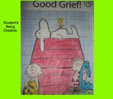 Coordinate Plane Pictures (Snoopy)