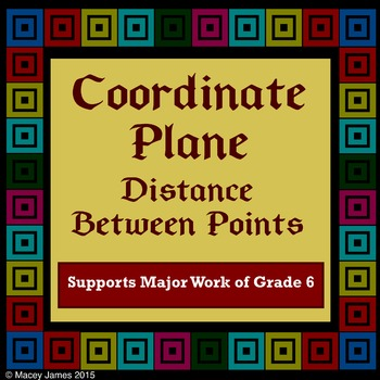 Coordinate Plane Plotting, Reflecting, Distance