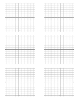 Coordinate Plane Practice Sheet