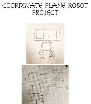 Coordinate Plane Robot Project