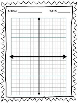 Coordinate Plane Shape Project