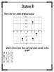 Coordinate Plane Stations (STAAR Test Prep / 6.11)